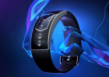 Huami также показала «часы из будущего» Amazfit X Concept Watch с изогнутым дисплеем