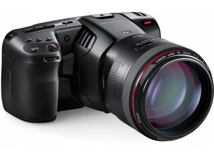 Анонсирована камера Blackmagic Design Pocket Cinema Camera с поддержкой записи видео 6K стоимостью $2500