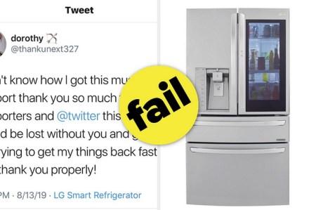 Мама отобрала у 15-летней девочки Дороти все гаджеты, но та не растерялась и все равно вышла в Twitter через… умный холодильник. Жаль, что это фейк