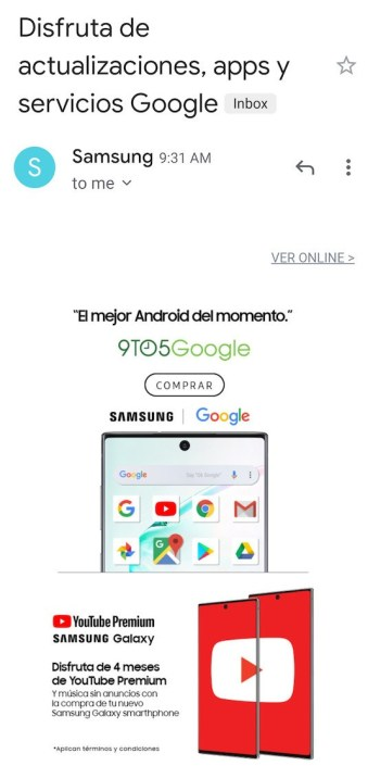 Кажется, Samsung потроллила Huawei, напомнив о наличии сервисов Google в смартфоне Galaxy Note10 в аккурат в ходе презентации Mate 30 и Mate 30 Pro