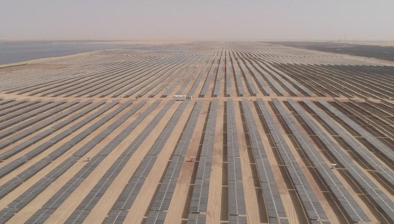 Строительство грандиозного египетского солнечного парка Benban подходит к завершению