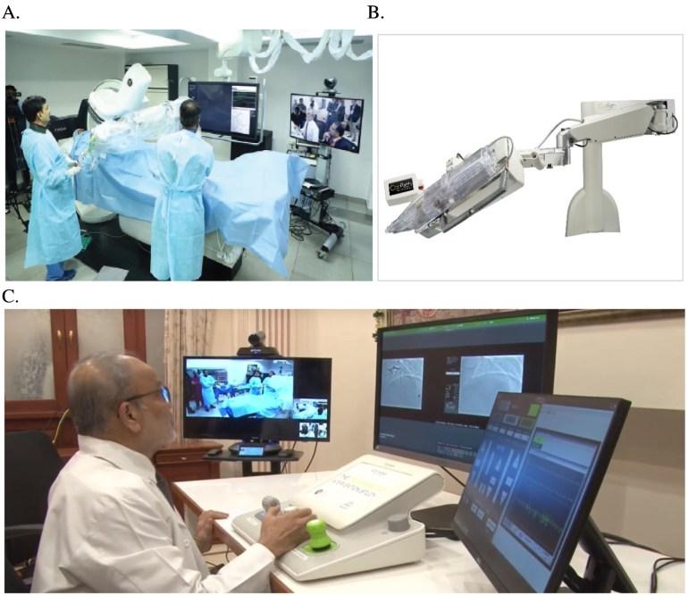 Индийский кардиолог провел первую в мире операцию на сердце через интернет