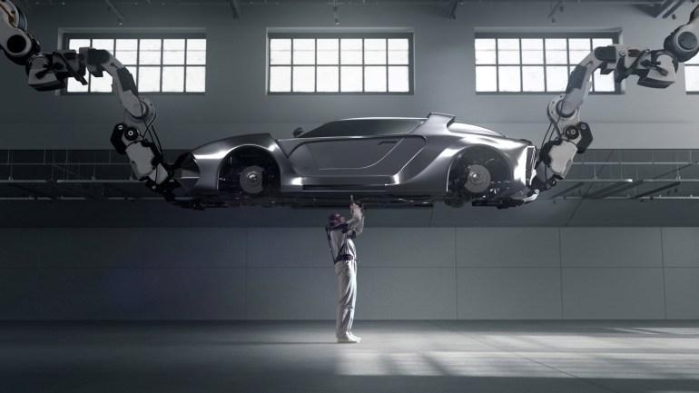 Hyundai представила экзоскелеты для работников фабрик и складов