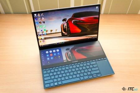 От 78 999 грн. Ноутбук ASUS ZenBook Pro Duo (UX581GV) с двумя дисплеями начал продаваться в Украине