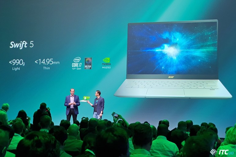 Next@Acer на IFA 2019: ультралегкие Swift 5/3, моноблоки Aspire C22/C24/C27 и портативный проектор