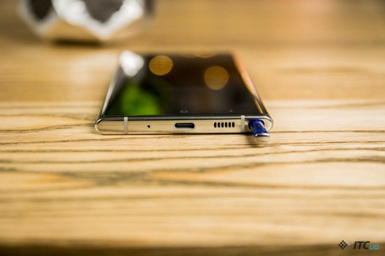 Galaxy Note10+ динамик