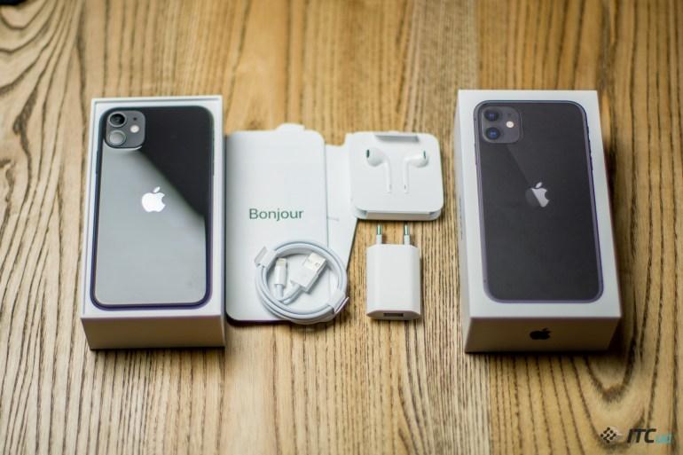 iPhone 11 комплект