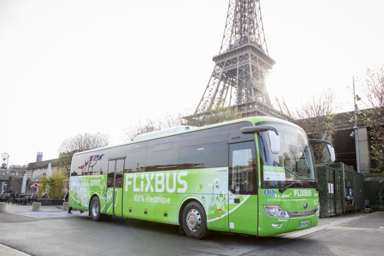 FlixBus начнет тестировать в Европе водородные автобусы и обещает стать на 100% экологичной компанией к 2030 году