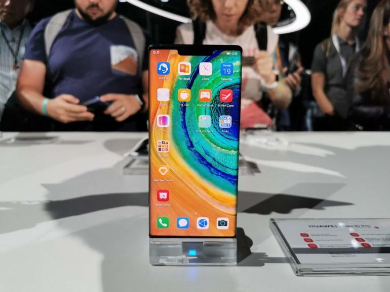Первый взгляд на Huawei Mate 30 Pro