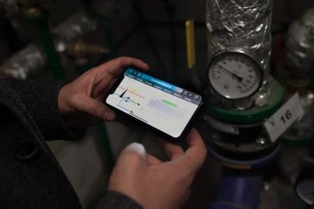 В 17 домах Киева установили энергоэффективное оборудование, которое позволяет жителям самостоятельно регулировать температуру отопления с помощью смартфонов