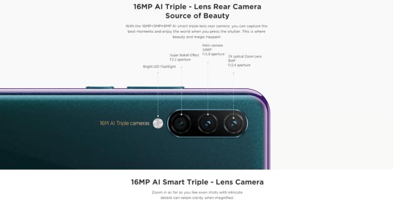 Раскрыты характеристики смартфона Lenovo K10 Note