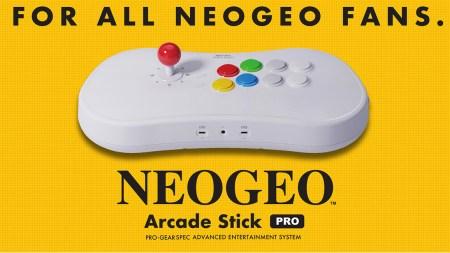 Японская компания SNK представила ретро-консоль Neo Geo Arcade Stick Pro в виде геймпада с 20 предустановленными играми