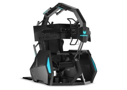Acer анонсировала игровое кресло Predator Thronos Air по цене… $14 тыс.