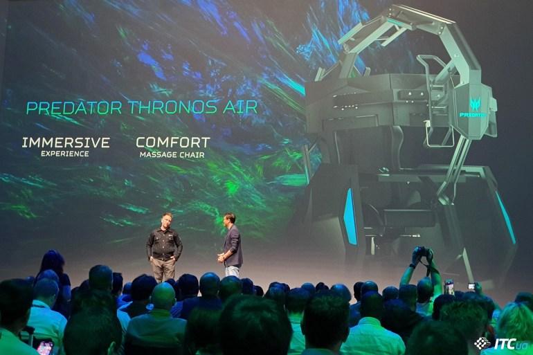 Next@Acer на IFA 2019: Predator Triton 300/500, кресло Thronos Air и мониторы Nitro XV3