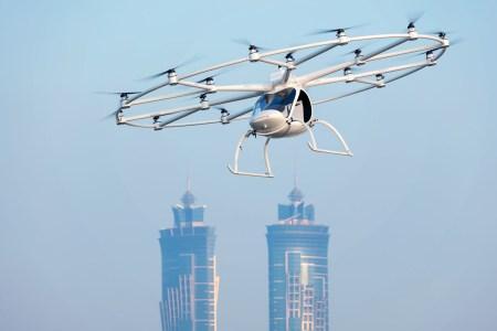 Летающее такси все ближе. Daimler и Geely помогут (финансово) коммерческому аэротакси Volocopter взлететь до 2021 года