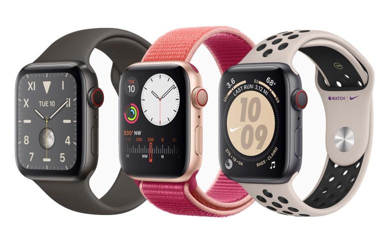 Умные часы Apple Watch Series 5 получили постоянно активный дисплей, встроенный компас и ценник от $399