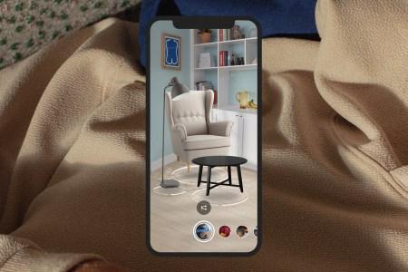 В IKEA Place теперь можно виртуально обставить комнату целой коллекцией мебели