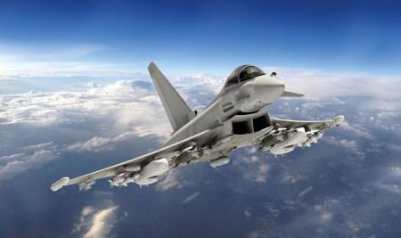 Итальянцы собираются разработать систему запуска малых спутников с помощью истребителей Eurofighter Typhoon