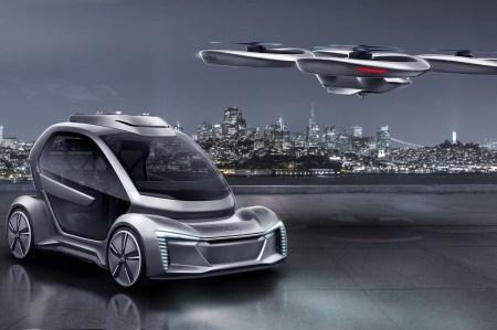 Audi свернула совместный с Airbus проект по созданию автомобиля-аэротакси Pop.Up