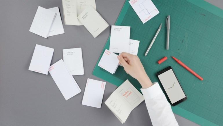 Google предложила заменить смартфон на распечатанный листочек бумаги с полезной информацией
