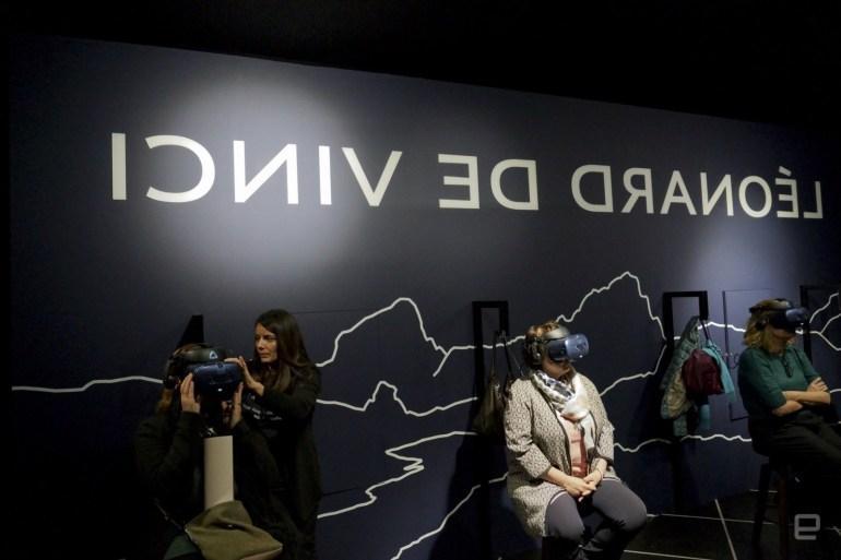 """Дочерняя компания тайваньского техногиганта HTC представила VR-версию знаменитой """"Моны Лизы"""""""