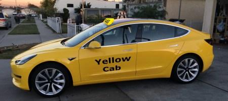 Tesla Model 3 стала первым электромобилем, который нью-йоркские чиновники допустили для работы в службе такси