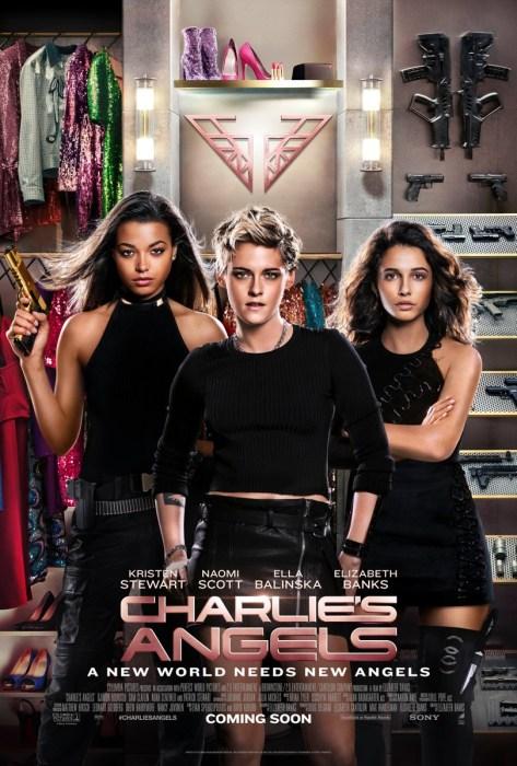 Второй трейлер боевика Charlie's Angels / «Ангелы Чарли» с Кристен Стюарт, Наоми Скотт и Эллой Балински