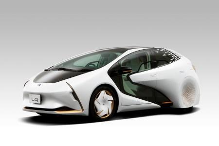 Toyota LQ — максимально футуристичный концепт автономного электромобиля со встроенным искусственным интеллектом «Yui»