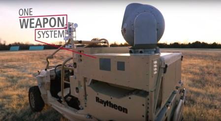 ВВС США получили на тестирование лазерную систему Raytheon для обнаружения и уничтожения дронов