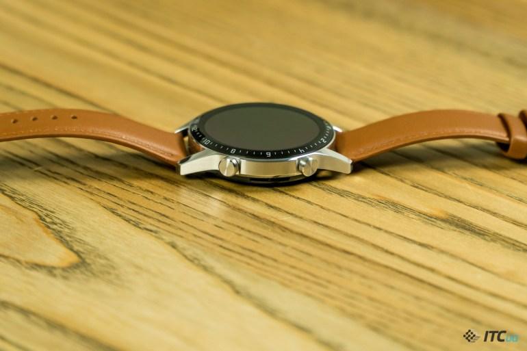 Huawei Watch GT2 кнопки