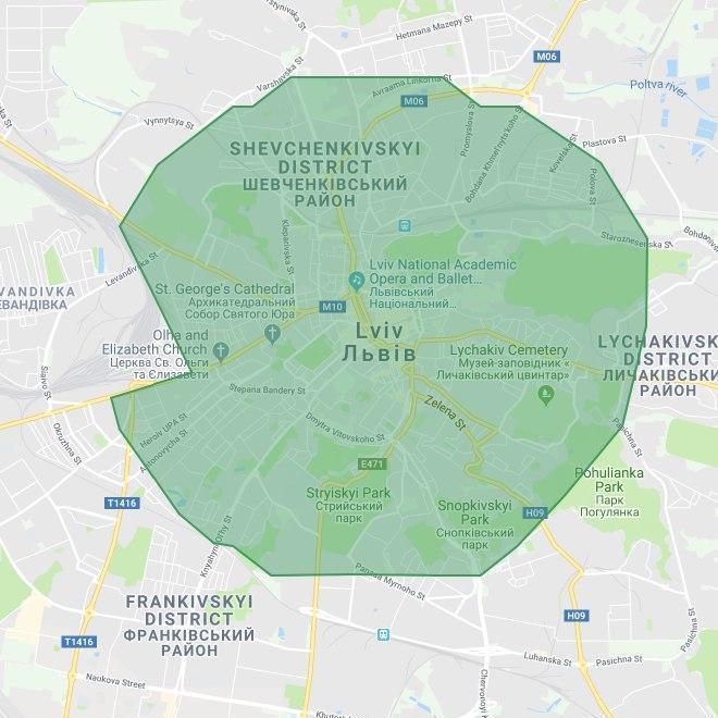 Uber Eats официально запустился во Львове, рассказав о зоне покрытия, ресторанах-партнерах и подарив бесплатную доставку