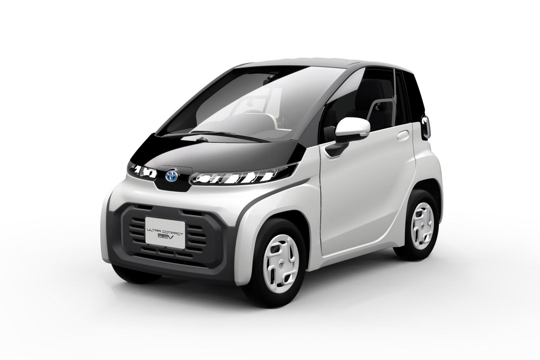 Toyota представила электрический двухместный сити-кар, который выйдет на рынок в 2020 году 01