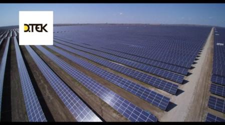 «ДТЭК» ввел в эксплуатацию Покровскую СЭС мощностью 240 МВт. Это вторая СЭС по мощности в Европе