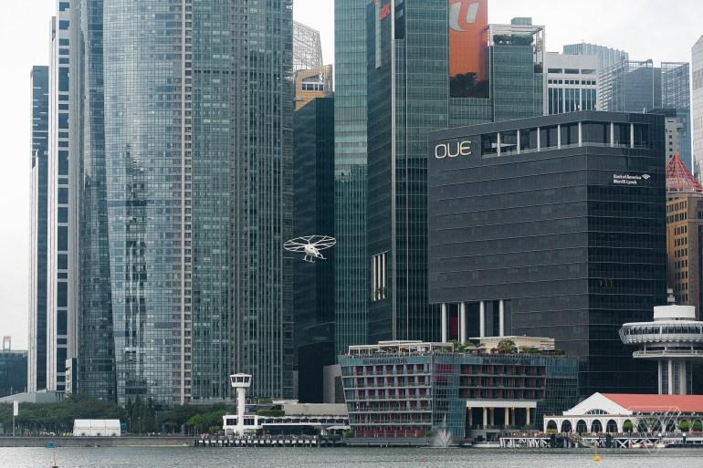 Стартап Volocopter демонтировал первую станцию для аэротакси VoloPort спустя неделю после ее презентации ¯_(ツ)_/¯