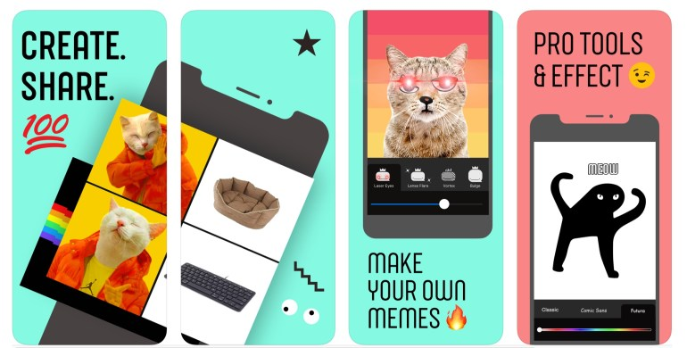Facebook тестирует в Канаде приложение для создания мемов