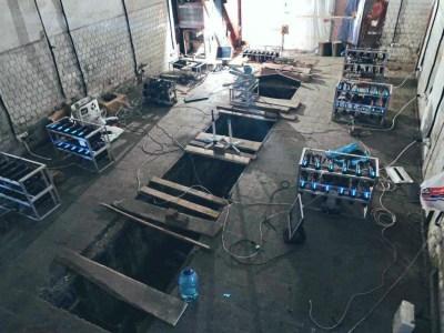 Сотрудники львовского подразделения «Укрзалізниці» обустроили майнинговую ферму в одном из помещений