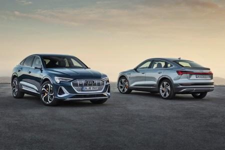 Немцы представили серийный электрический купе-кроссовер Audi e-tron Sportback с мощностью 300 кВт, батареей 95 кВтч, запасом хода 450 км и ценником от 71 тыс. евро