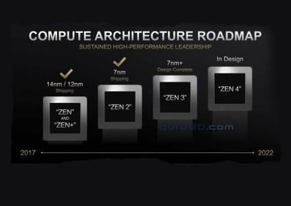 Микроархитектура AMD Zen 3 обеспечит заметный прирост производительности