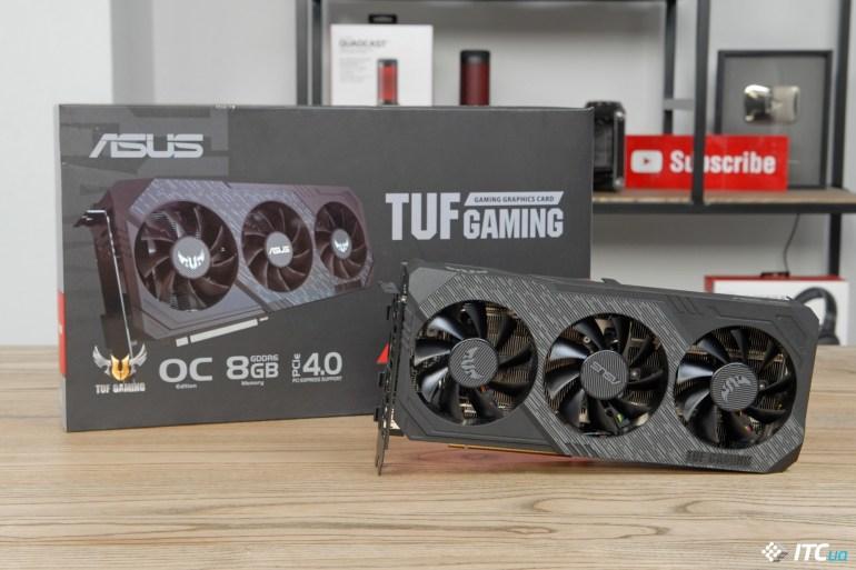 ASUS TUF Gaming X3 Radeon RX 5700 OC box