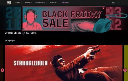 В магазине GOG.com стартовала распродажа к Черной Пятнице, более 2000 игр предлагаются со скидками до 90%