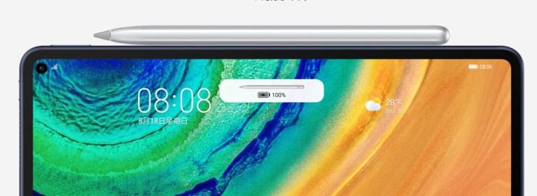 Представлен планшет Huawei MatePad Pro: 10,8-дюймовый дисплей, поддержка стилуса, проводная и беспроводная зарядка и топовый чипсет