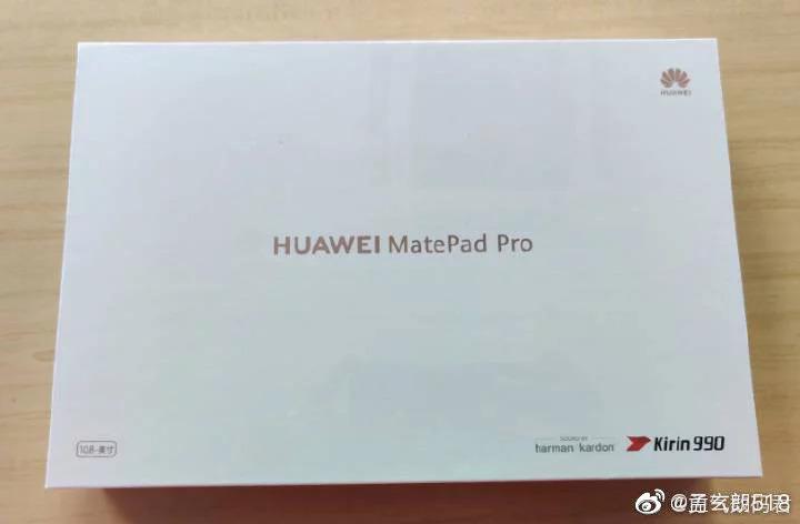 Фотографии и характеристики планшета Huawei MatePad Pro утекли в сеть накануне презентации