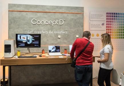 Дорого-богато. Acer представила в Украине ConceptD – ПК, ноутбуки и мониторы для графики и дизайна
