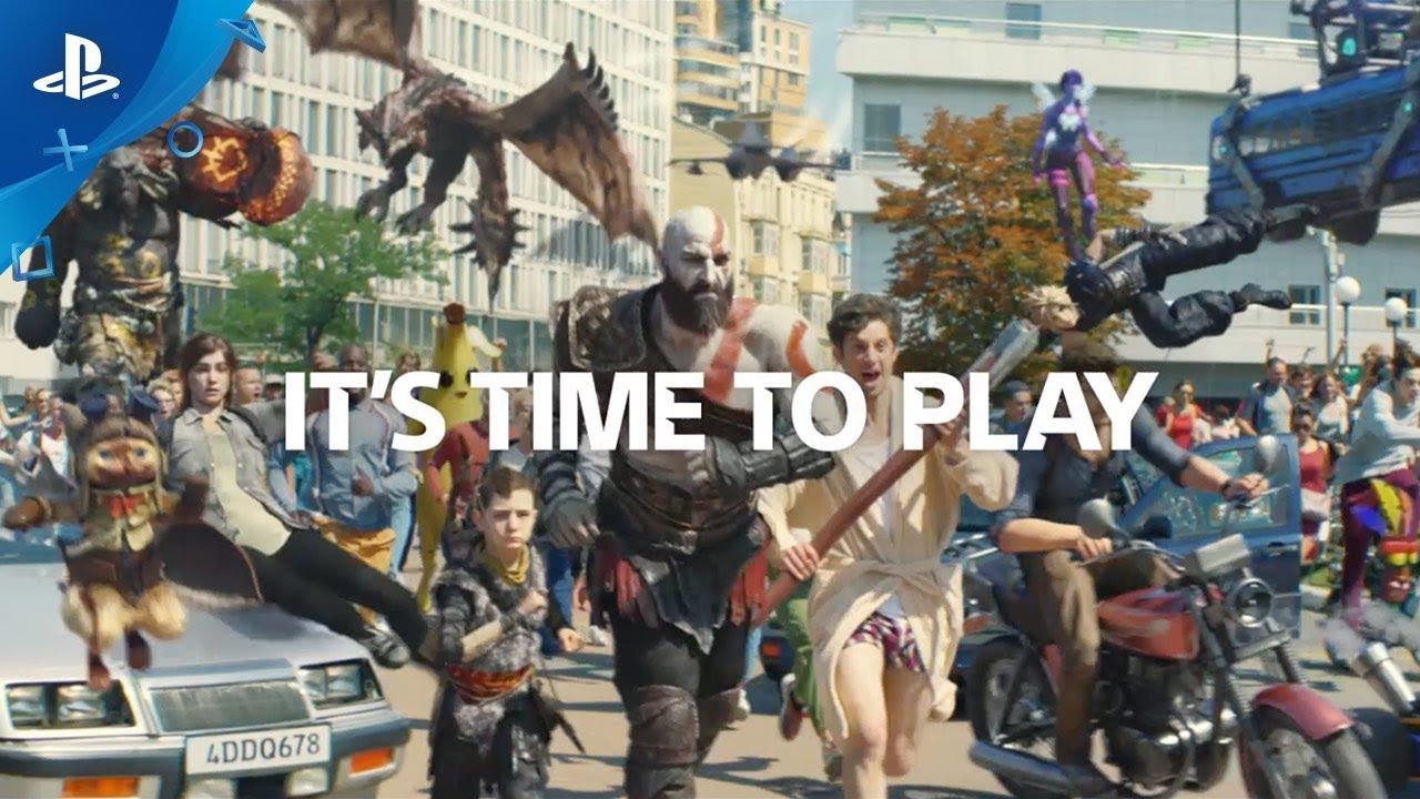 Radioaktive Film Новую рекламу Play Station 4 сняли в Киеве для съемок привлекли 23 каскадера и 300 человек массовки а также разбили 20 автомобилей