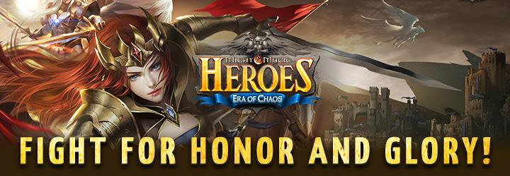 Вышла мобильная игра Might & Magic Heroes: Era of Chaos