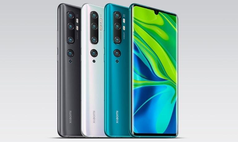 Народный камерофон Xiaomi Mi CC9 Pro (он же Xiaomi Mi Note 10) с пентакамерой на 108 Мп представлен официально, DxOMark оценили ее на одном уровне с камерой Huawei Mate 30 Pro