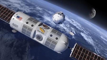 Орбитальный отель Aurora, разработанный космическим стартапом Orion Span, откроется в 2024. Но это неточно