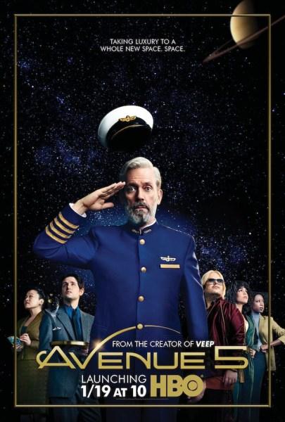 Вышел трейлер комедийного сериала HBO «Avenue 5», в котором Хью Лори спасает от бедствия круизный космический корабль