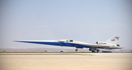 Lockheed Martin приступает к финальной сборке «тихого» сверхзвукового самолета NASA X-59