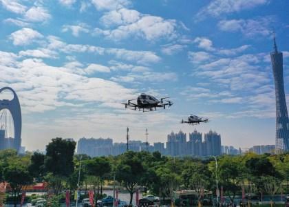 EHang запустит в Гуанчжоу экскурсионные полеты на беспилотных аэротакси